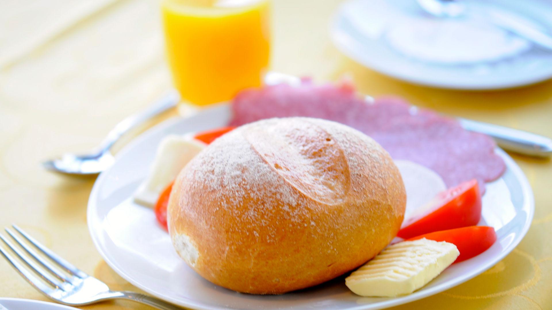 Leckerer Frühstücks-Teller