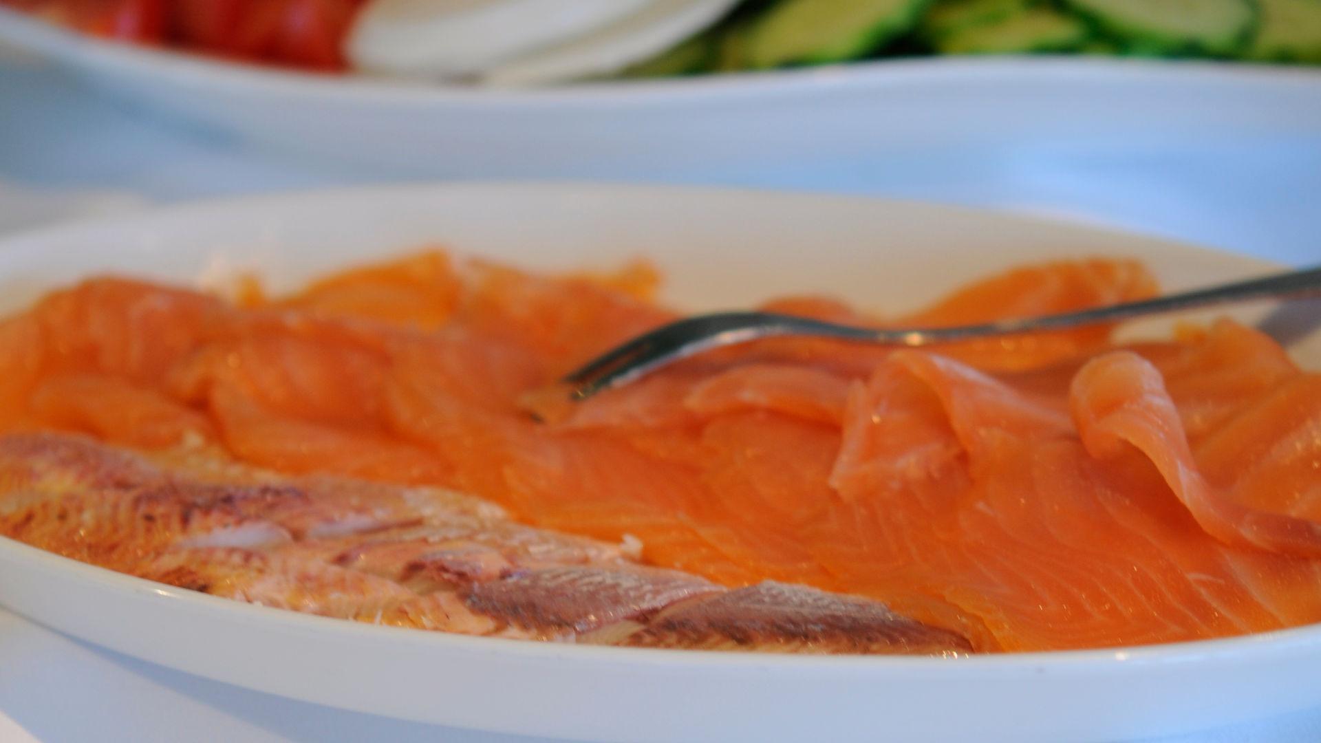 Leckerer Lachs zum Frühstück