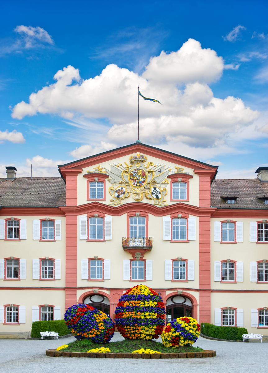 Schloss Mainau zu Ostern