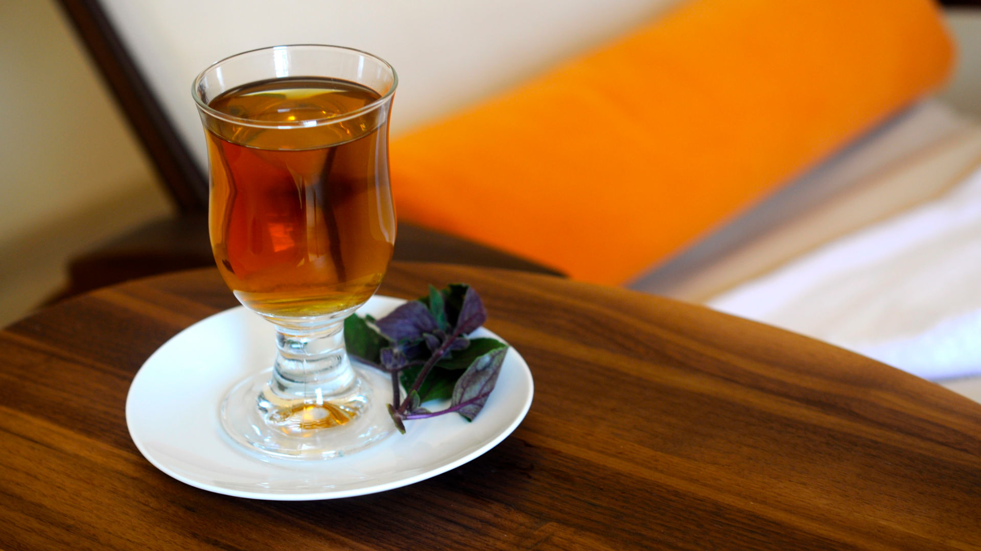 Grog und Tee zur Erholung